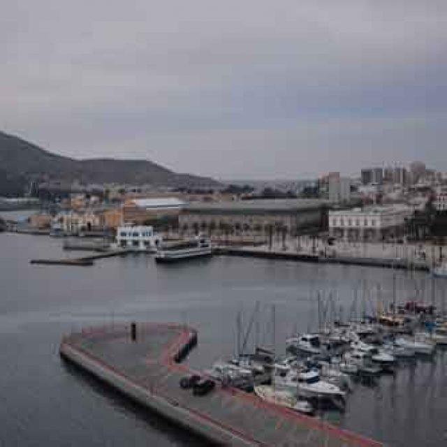 Second cruise dock Cartagena