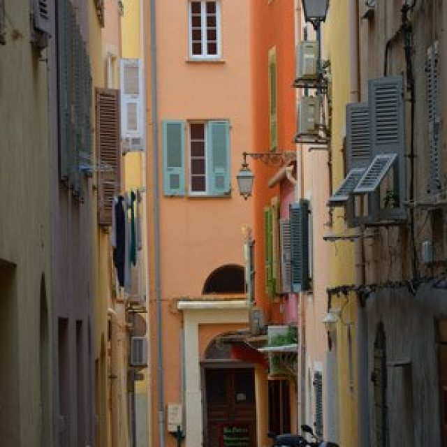 Ajaccio old town