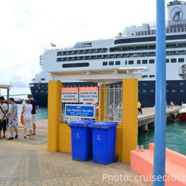 Bonaire cruise dock