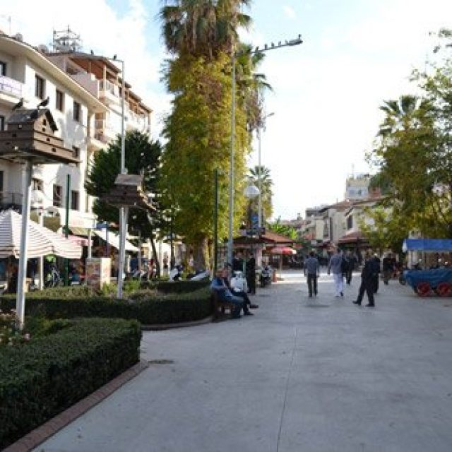 City centre of Kusadasi