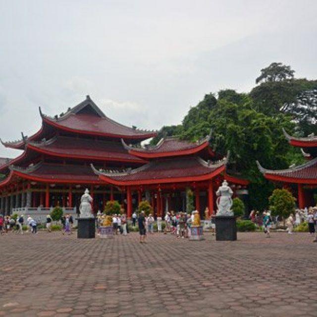 Sam Po Kong Chinese temple