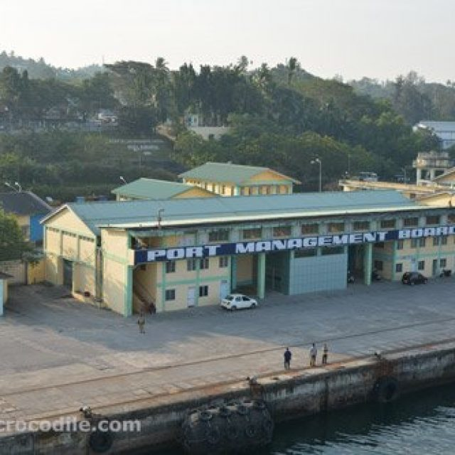 Port Blair cruise dock