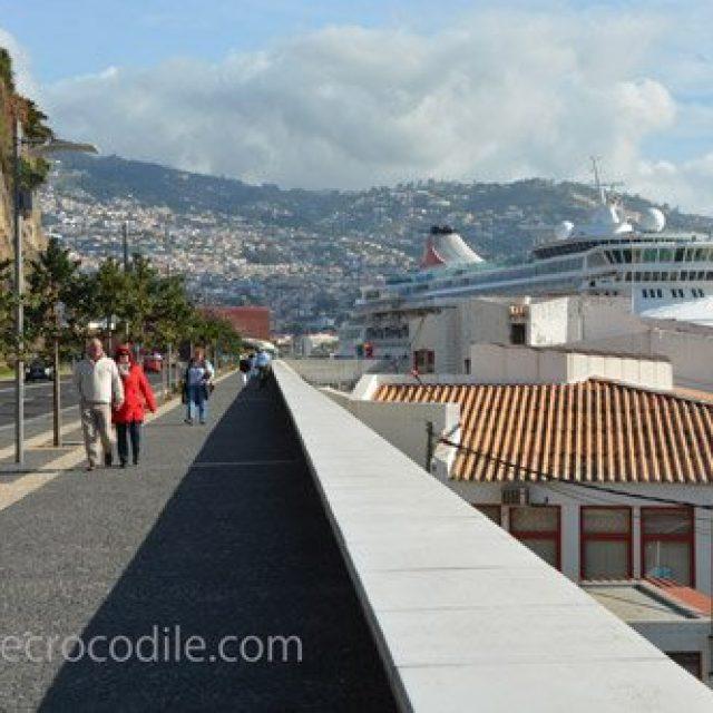 Funchal cruise dock