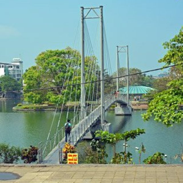 Beira lake and children's park