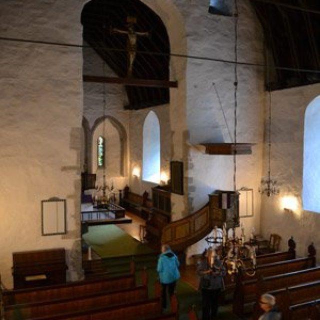 Aurlands church