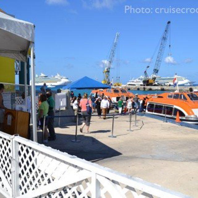 Grand Cayman tender pier
