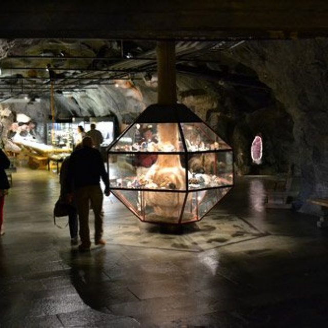 Mineral parken in Hornnes