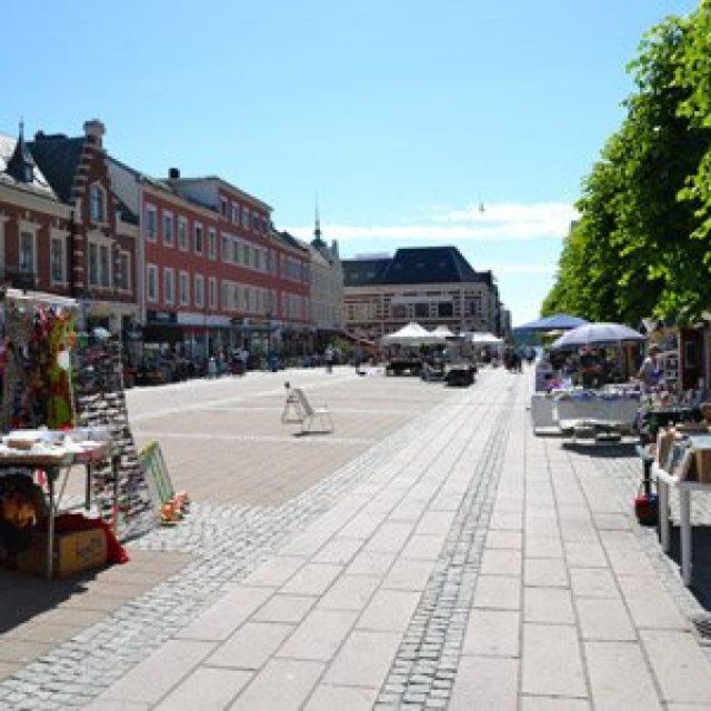 Kristiandsand's main square