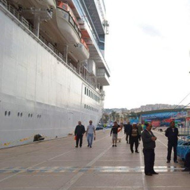 Kusadasi cruise dock