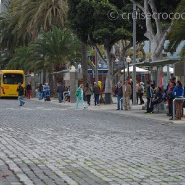 Bus 12 to old town and bus station