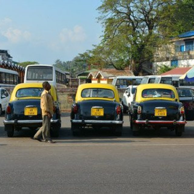 Taxis on the Andaman and Nicobar islands