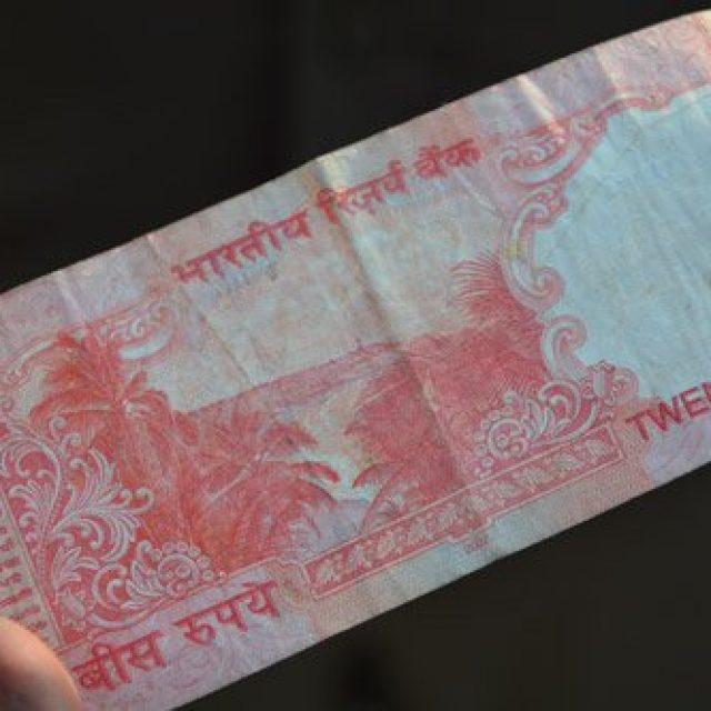 Lighthouse on the 20 rupee bill