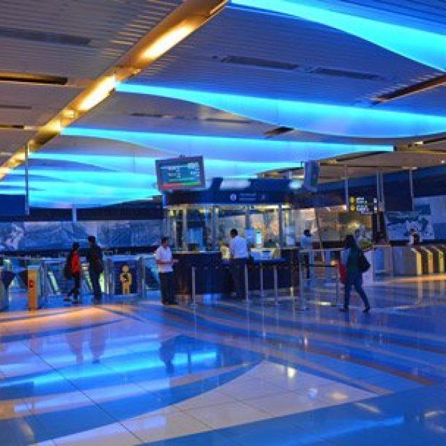 Dubai's metro system