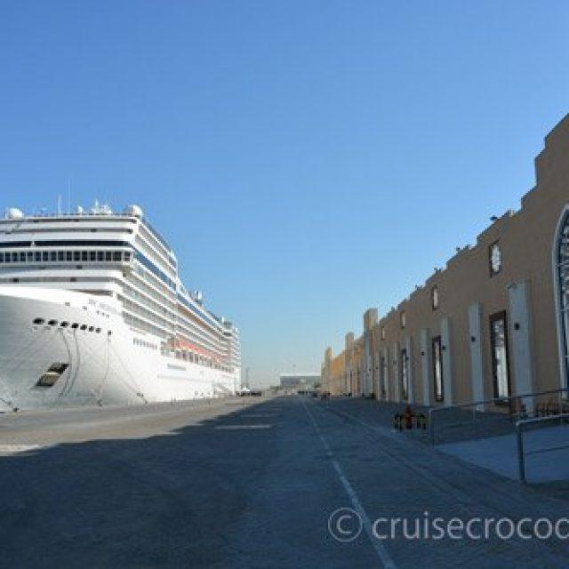 Dubai cruise dock