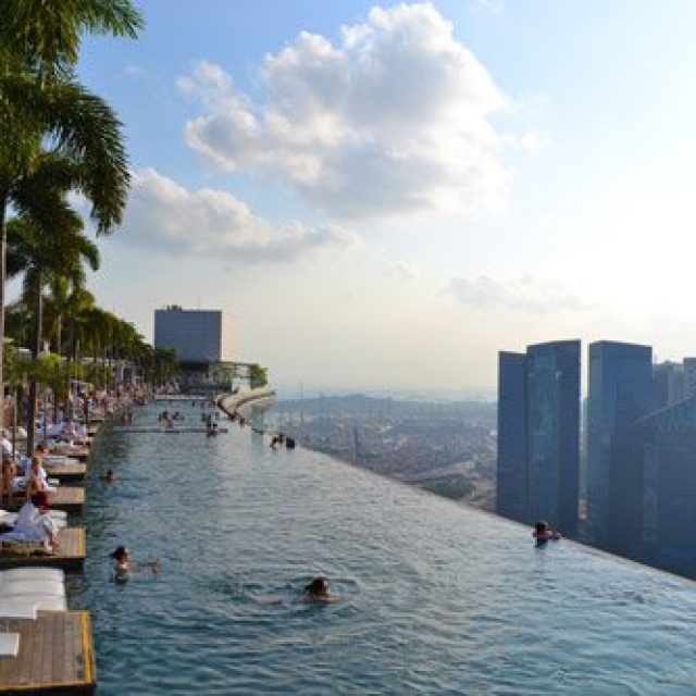 Marina Bay Sands oberservation deck