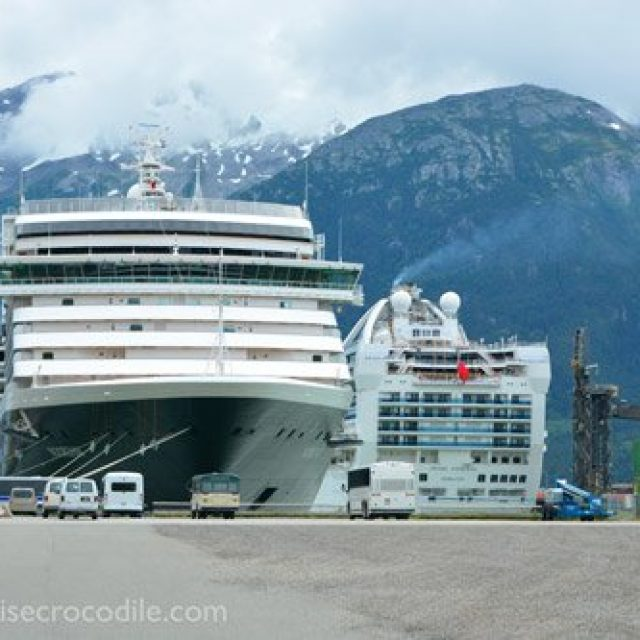 Skagway cruise dock