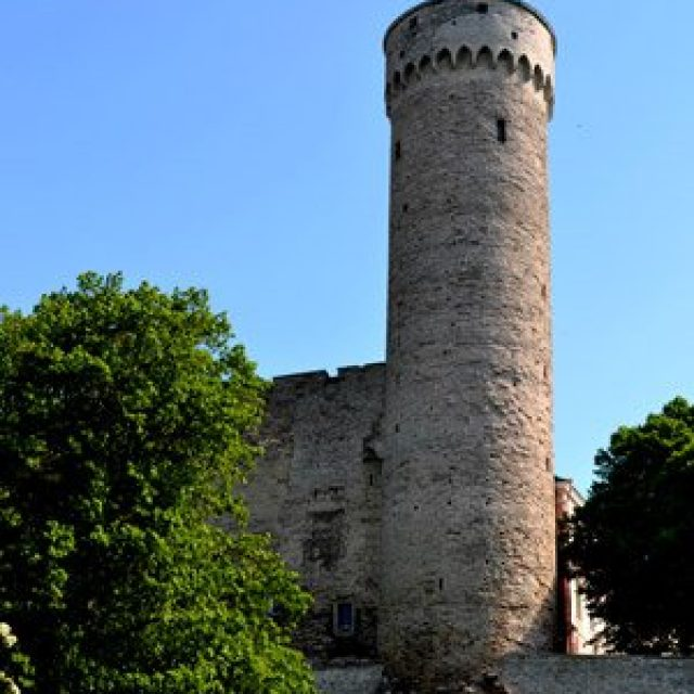 Hermann tower at Toompea castle