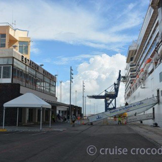 Cadiz cruise dock