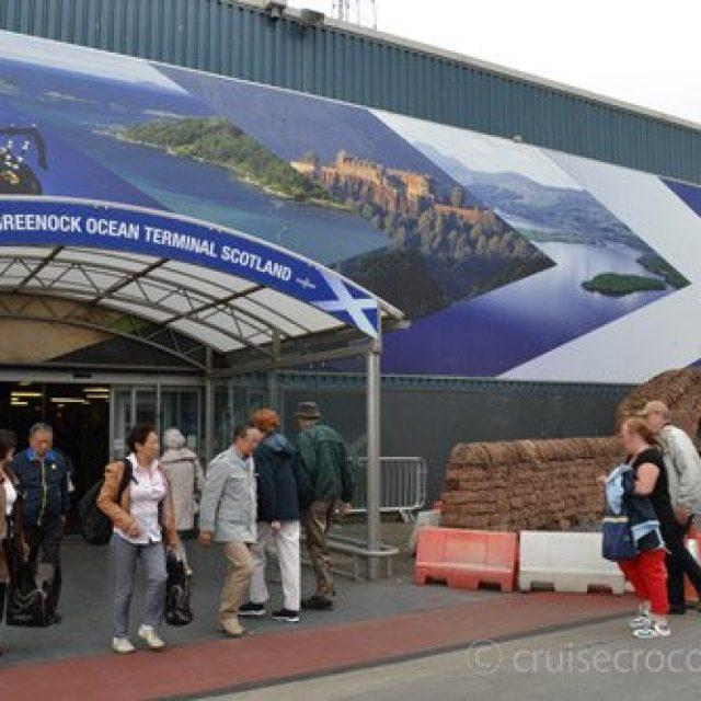 Greenock cruise dock