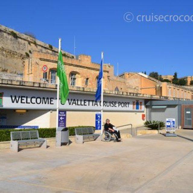 Valletta cruise dock