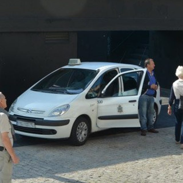 The official taxi of Vigo