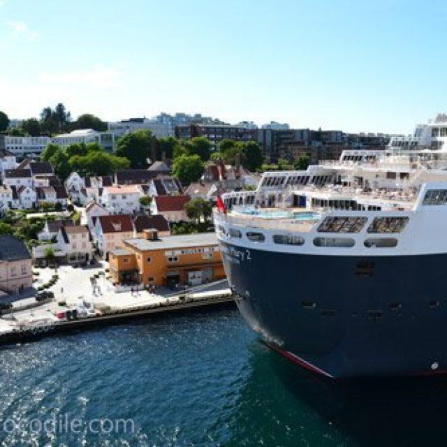 Stavanger cruise dock