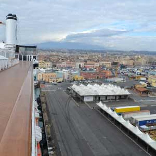 Catania cruise dock