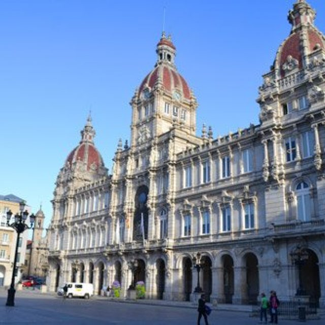 Maria Pita: Palacio Municipal