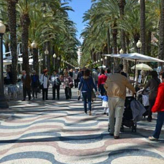 Paseo de la Esplanade de Espana
