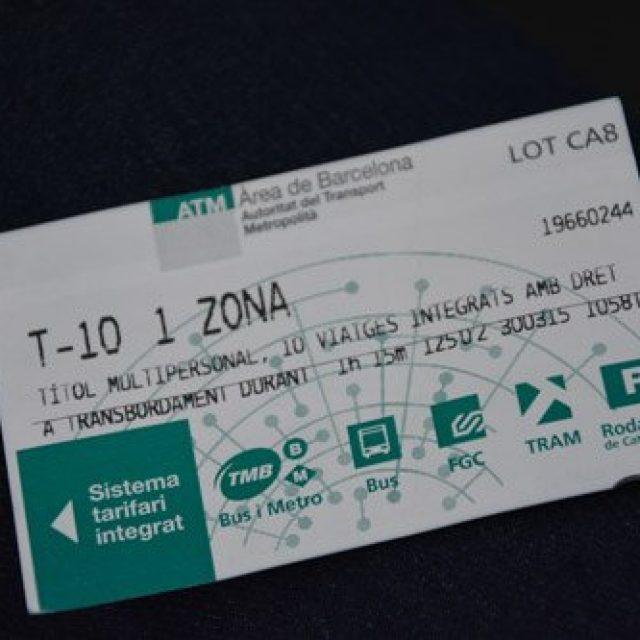 Tarjeta T-10 card