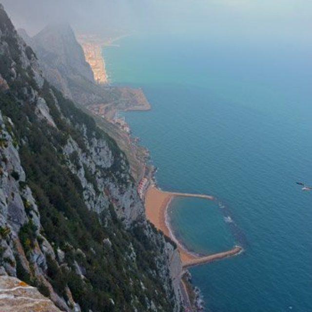 The beaches of Gibraltar