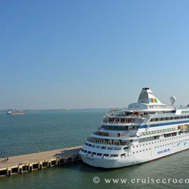 Goa cruise dock