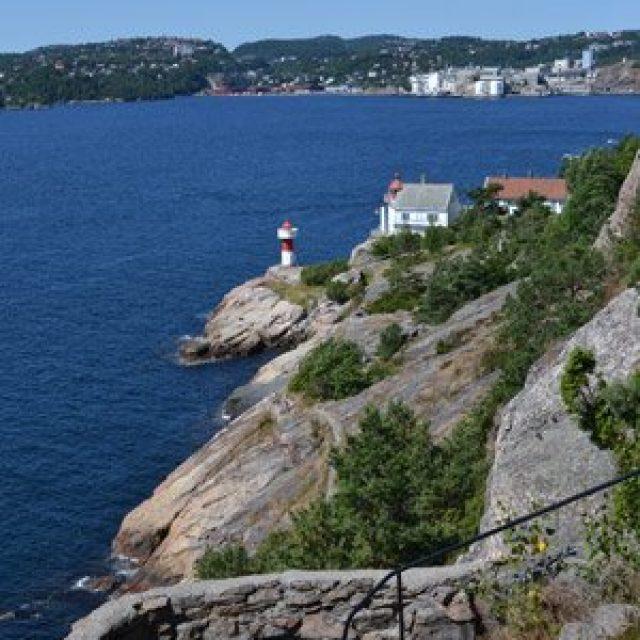 Hiking island Odderøya
