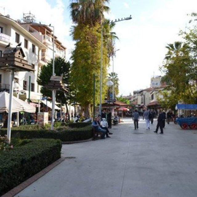 City centre of Kusadasi