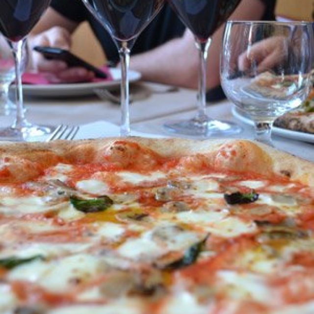 Margherita pizza from Naples