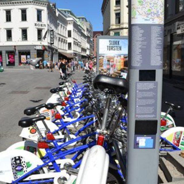 Biking in Oslo