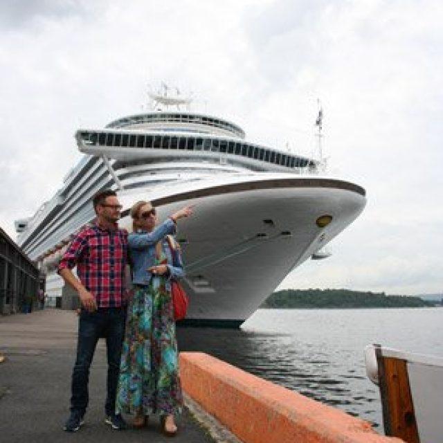 Oslo cruise dock