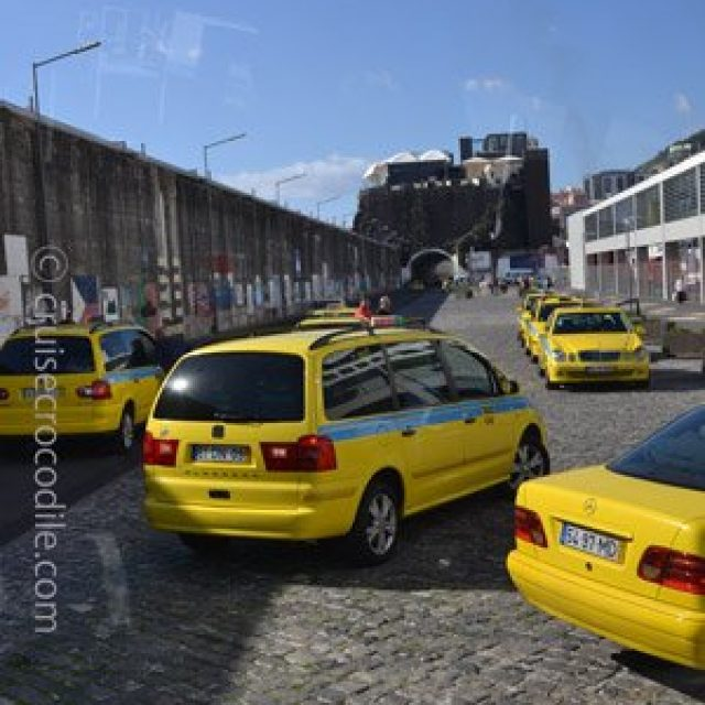 Official taxi of Funchal