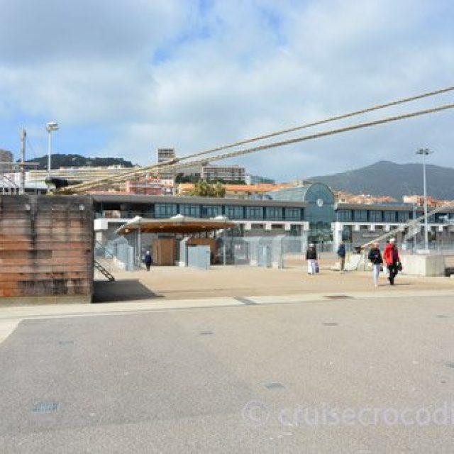 Ajaccio cruise dock