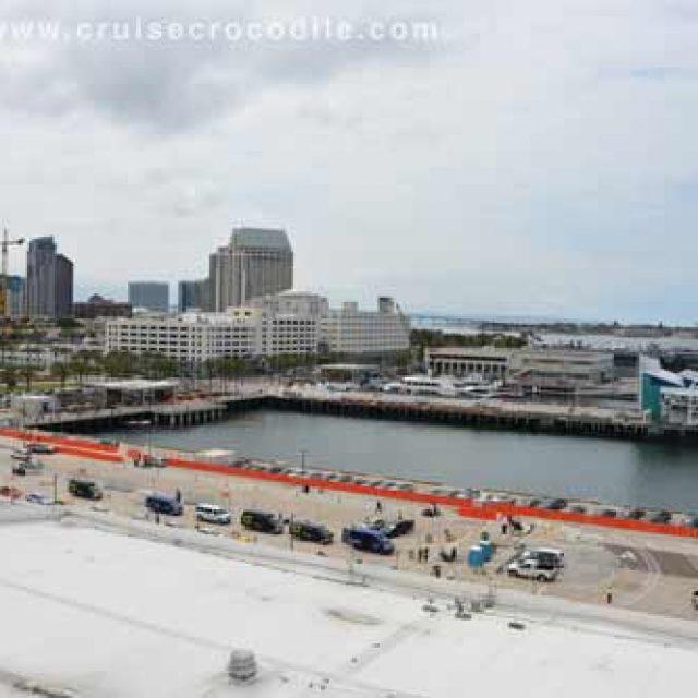 San Diego cruise dock