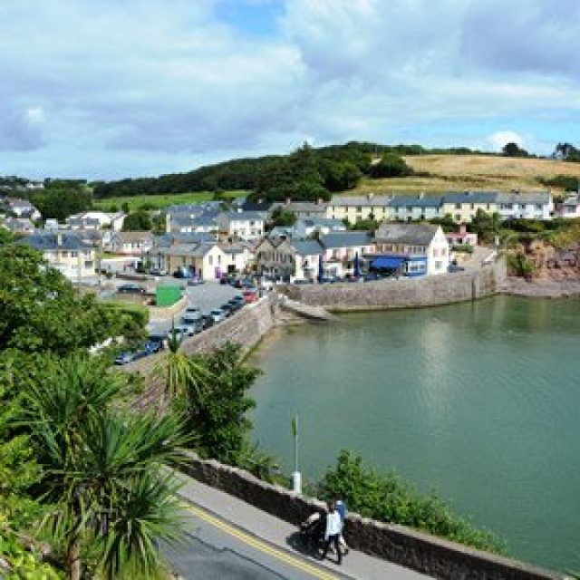 The bay in Dunmore East