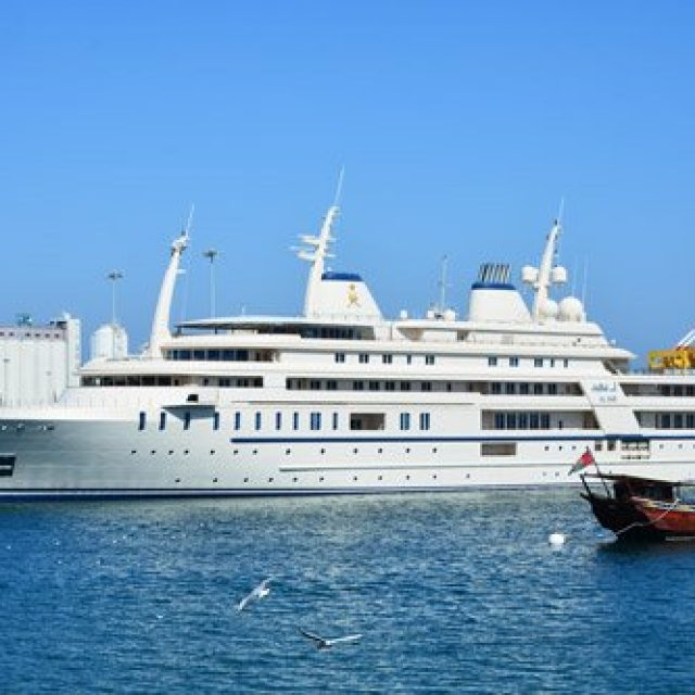 Sultans yacht