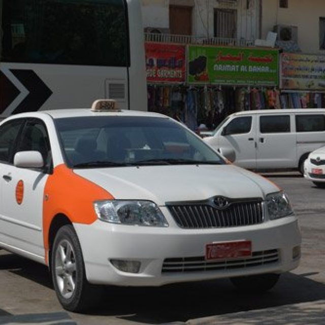 The official taxi of Oman