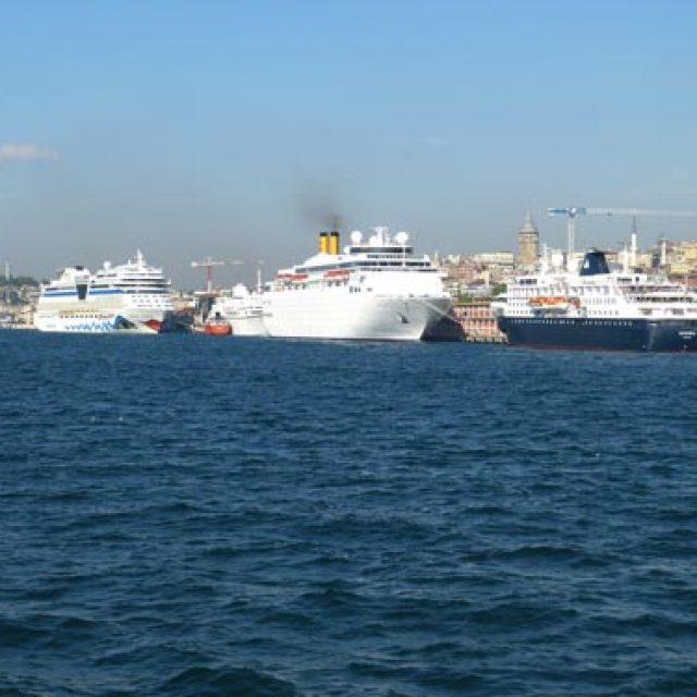 Istanbul cruise dock