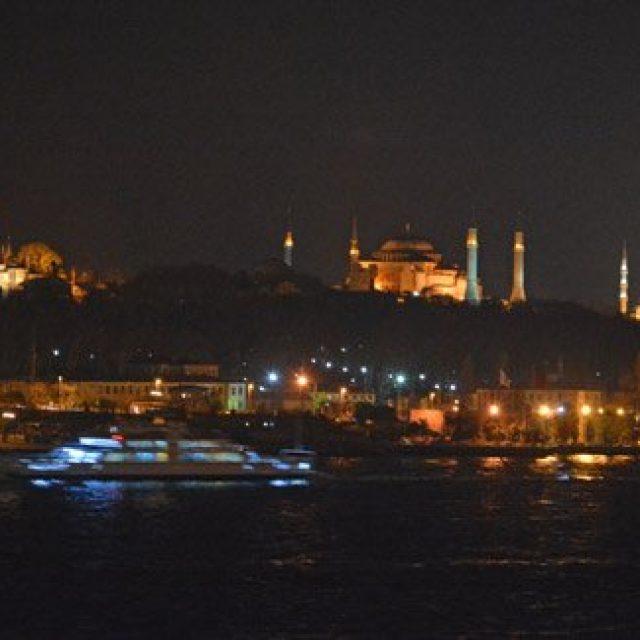 Cruise boats Bosphorus