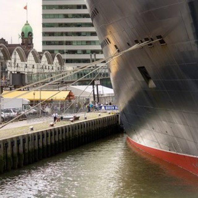 Rotterdam cruise dock