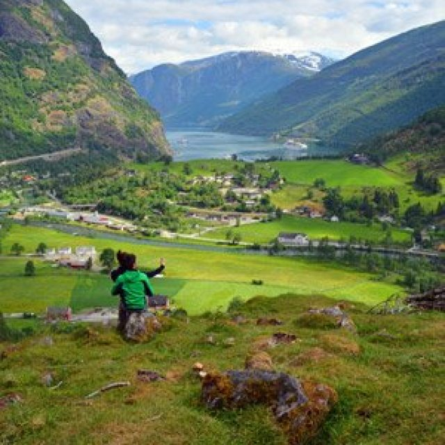 Hiking in Flam