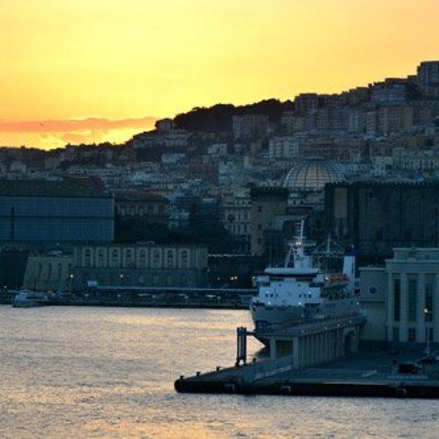 Scenic cruising around Naples