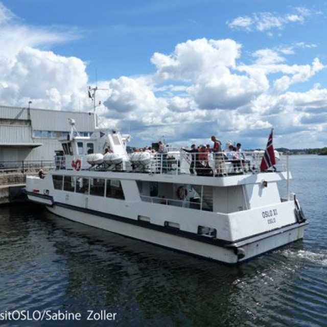 The ferries of Oslo