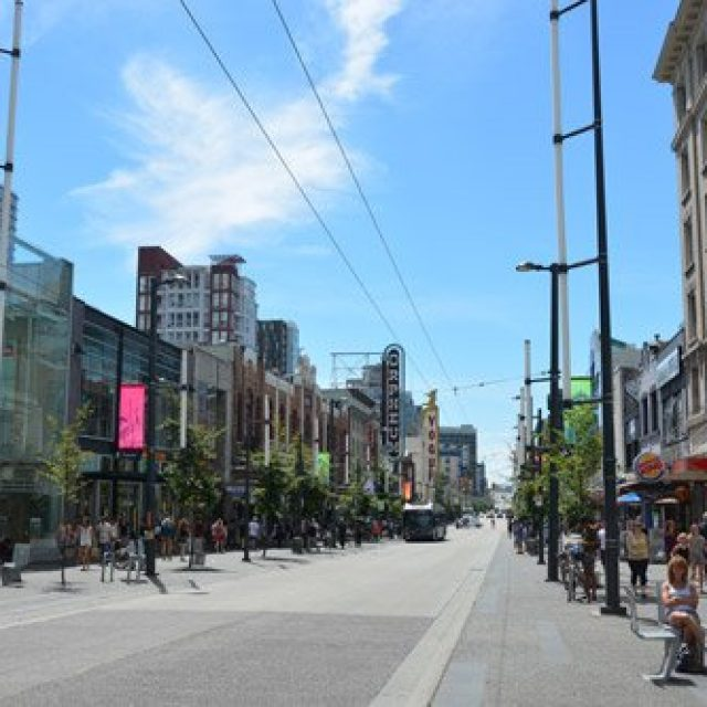 Robson Shopping District